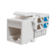Модуль-вставка Keystone Кат5е, инстр.зад, белый UTP (10-0313) | Вставка Keystone Jack RJ-45