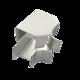 Соединитель ККМО Угол 15 T-образный металлический | Угол T-образный для кабель-канала