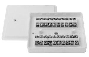 КРТП 10 (КРТП 10х2) | Коробка телефонная распределительная плоская