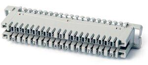 LSA-PLUS плинты 2/10 размыкаемые контакты (6089 1 102-06) | Модуль подключение кабеля к кроссовому оборудованию