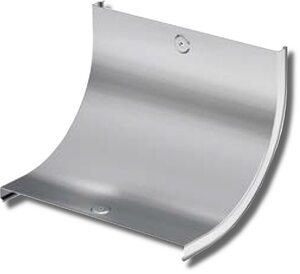 Крышка на угол CS 90 вертикальный внутренний 90° основание 400 (38206) | Крышка лотка
