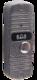 JSB-V05M PAL (серебро) накладная | Вызывная панель видеодомофона