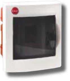Щиток встраиваемый с дверцей 4 модуля IP41 белый (81504) | Щиток модульный