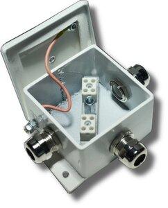 КМ-О (4к)-IP66 три ввода | Коробка монтажная огнестойкая