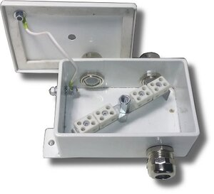 КМ-О (8к)-IP66-d три ввода | Коробка монтажная огнестойкая