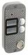 JSB-V082TM PAL (серебро) накладная | Вызывная панель видеодомофона