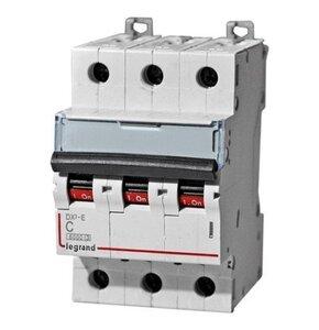 Автоматический выключатель DX3 3р C3 6kA (407664) | Автоматический выключатель