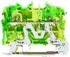 WAGO 2002-1207, клемма 2-х проводная с заземлением | Клеммник