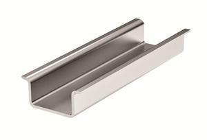 DIN-рейка с насечкой OMEGA 3B 35х15мм, L=2м (02155) | DIN-рейка