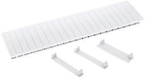 Заглушка 12 модулей белая (YZM10-12-K01)   Заглушка