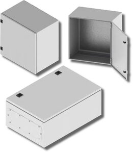 Навесной шкаф CE, 600x400x400 мм, IP65 (R5CE0644 (600х400х400), IP55 | Шкаф электротехнический