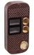 JSB-V082TM PAL (медь) накладная | Вызывная панель видеодомофона