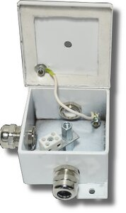 КМ-О (2к)-IP66 три ввода | Коробка монтажная огнестойкая
