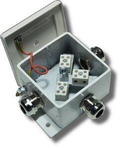 КМ-О (6к*6,0)-IP66три ввода   Коробка монтажная огнестойкая