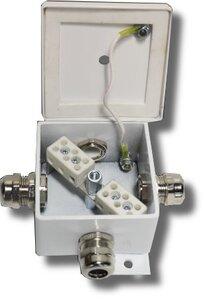 КМ-О (6к*6,0)-IP66 четыре ввода | Коробка монтажная огнестойкая
