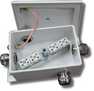 КМ-О (8к)-IP66-dчетыре ввода   Коробка монтажная огнестойкая