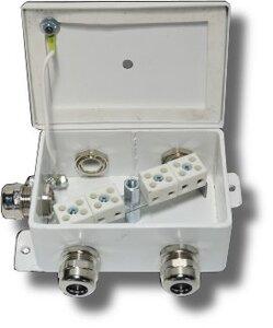 КМ-О (8к)-IP66-d пять вводов | Коробка монтажная огнестойкая