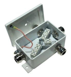 КМ-О (10к)-IP66-d четыре ввода | Коробка монтажная огнестойкая