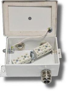 КМ-О (8к*6,0)-IP66-d три ввода   Коробка монтажная огнестойкая