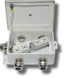 КМ-О (8к*6,0)-IP66-d пять вводов | Коробка монтажная огнестойкая