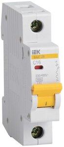 ВА47-29 1P 2,5А 4,5кА (MVA20-1-D25-C) | Автоматический выключатель