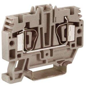 Проходной зажим HMM.4GR, серый 4кв.мм (ZHM250GR) | Клеммник