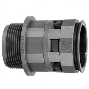 Муфта труба-коробка DN 7 мм М12х1,5 полиамид (PAM07M12N)   Муфта