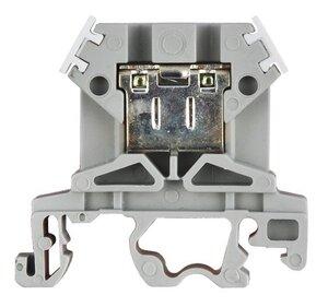 Зажим наборный ЗНИ-4 кв.мм серый (YZN10-004-K03)   Клеммник