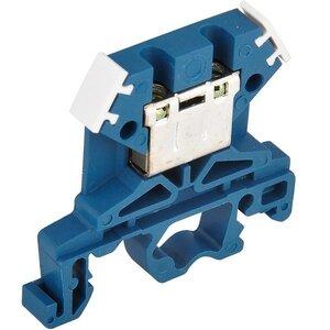 Зажим наборный ЗНИ-4 кв.мм синий (YZN10-004-K07)   Клеммник