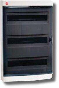 Щиток настенный с дверцей 54 модулей IP41 белый (84654) | Щиток модульный