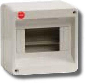 Щиток настенный без дверцы 8 модулей IP40 серый (83608) | Щиток модульный