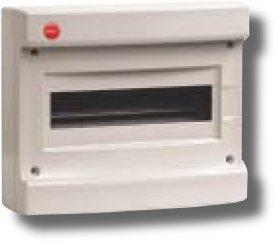 Щиток настенный без дверцы 12 модулей IP40 серый (83612) | Щиток модульный