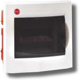 Щиток встраиваемый с дверцей 8 модулей IP41 белый (81508) | Щиток модульный