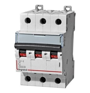 Автоматический выключатель DX3-E C63 3П 6000/6kA (407297) | Автоматический выключатель