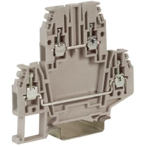 Проходной зажим DBC.2GR, серый 2,5кв.мм (ZDB100GR)   Клеммник