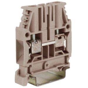 Проходной зажим BC.6GR, серый 6кв.мм (ZCBC06GR) | Клеммник