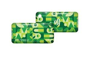 ISBC Mifare ID Standard (зеленый)   Брелок