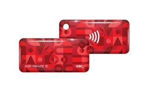 ISBC Mifare ID Standard (красный)   Брелок