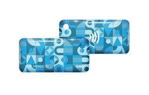 ISBC Mifare ID Standard (голубой) | Брелок