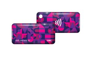 ISBC Mifare ID Standard (фиолетовый) | Брелок