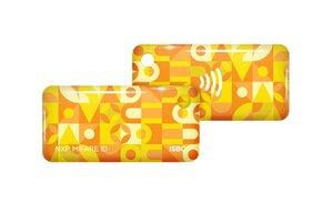 ISBC Mifare ID Standard (желтый) | Брелок