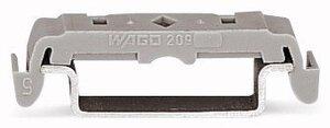 WAGO 209-120 кронштейн монтажный серый   Аксессуар для клемм