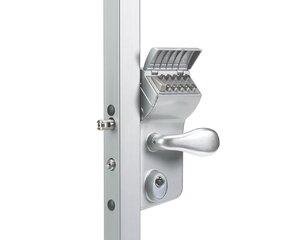 LMKQ4040 V2L (цвет: ZILV, серебро) | Замок механический кодовый для калиток