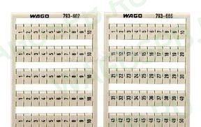 WAGO 793-699 маркировочная система WMB MULTI   Маркер