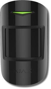 Ajax MotionProtect Plus (black)   Извещатель охранный оптико-электронный комбинированный радиоканальный