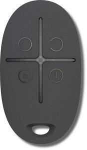 Ajax SpaceControl (black) | Брелок 4-х кнопочный с обратной связью