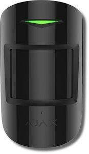 Ajax CombiProtect (black) | Извещатель охранный оптико-электронный комбинированный радиоканальный