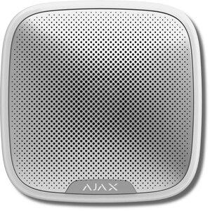 Ajax StreetSiren (white) | Оповещатель свето-звуковой радиоканальный