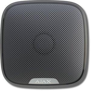 Ajax StreetSiren (black)   Оповещатель свето-звуковой радиоканальный