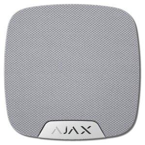 Ajax HomeSiren (white) | Оповещатель звуковой радиоканальный